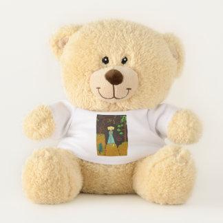 Golden Fur Teddy Bear