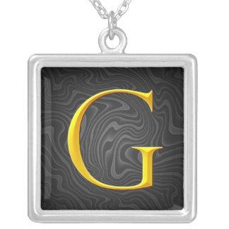 Golden G Monogram Pendant