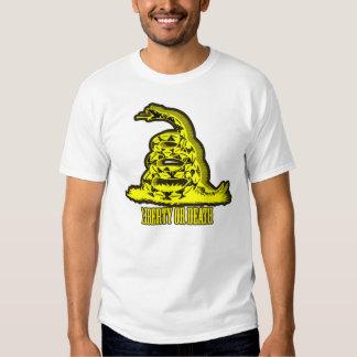 Golden Gadsden Silence is Deadly T-shirt