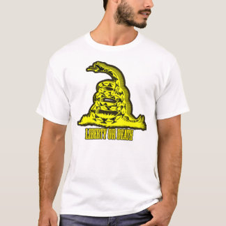 Golden Gadsden Silence is Deadly T-Shirt
