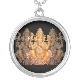 Golden Ganesh necklace