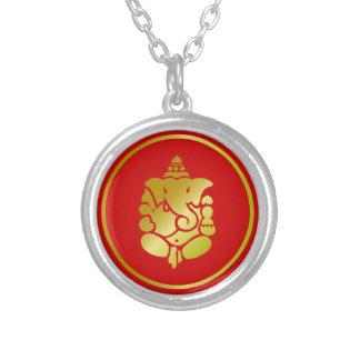 Golden Ganesha Pendants