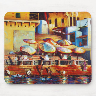 Golden Ganges Mouse Pad