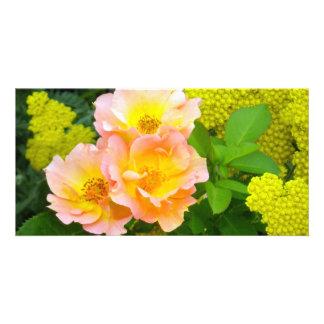 Golden Garden Beauty Card
