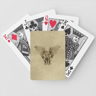 Golden Gargoyle Playing Cards