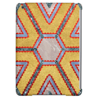 Golden Garnet Ornament (Premium Marble mandala) Case For iPad Air