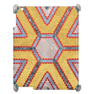 Golden Garnet Ornament (Premium Marble mandala) Case For The iPad