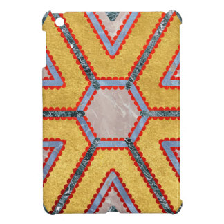Golden Garnet Ornament (Premium Marble mandala) Case For The iPad Mini