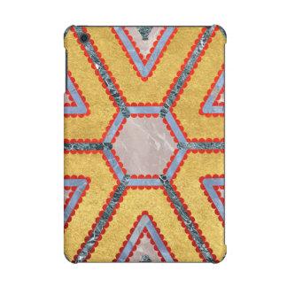 Golden Garnet Ornament (Premium Marble mandala) iPad Mini Case