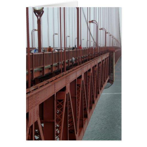 Golden Gate 6 Tarjeta De Felicitación
