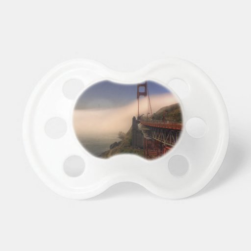 Golden Gate and Sutro Tower Pacifier