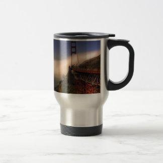 Golden Gate and Sutro Tower Travel Mug
