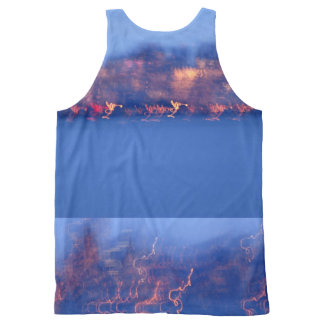 Golden Gate at Night All-Over Print Tank Top