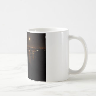 Golden Gate Briddge Full Moon Coffee Mug