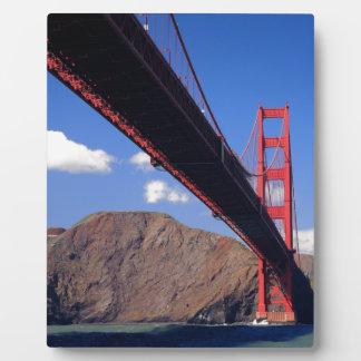 Golden Gate Bridge 10 Plaque