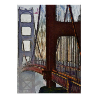Golden Gate Bridge - 20x28 Poster