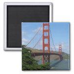 Golden Gate Bridge 2 2 Inch Square Magnet