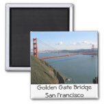 Golden Gate Bridge 2 Inch Square Magnet
