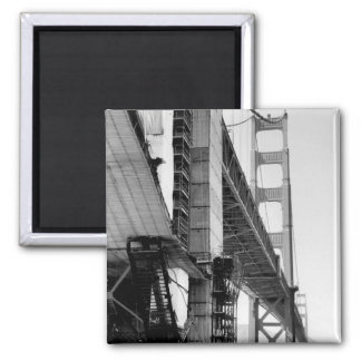 Golden Gate Bridge 2 Inch Square Magnet