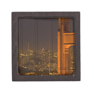 Golden Gate Bridge 2 Keepsake Box
