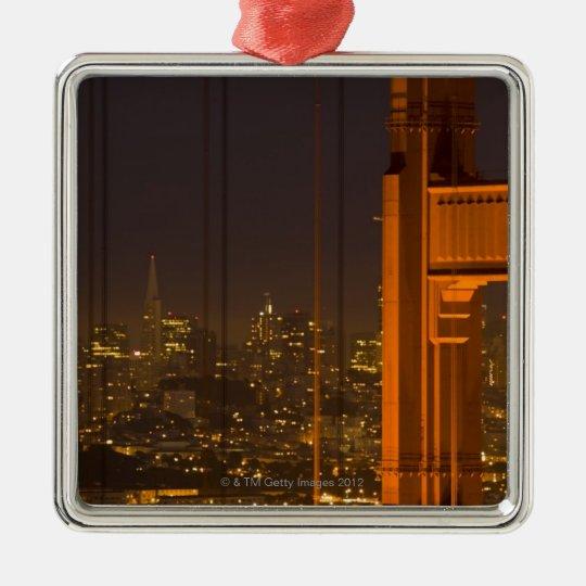 Golden Gate Bridge 2 Metal Ornament