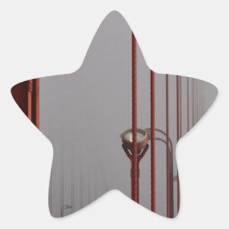 Golden Gate Bridge 2 Star Sticker