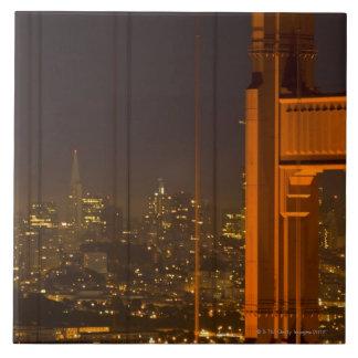 Golden Gate Bridge 2 Large Square Tile