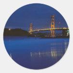 Golden Gate Bridge 3 Classic Round Sticker