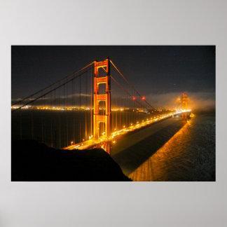 Golden Gate Bridge 3 Poster