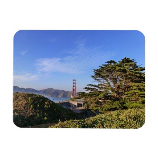 Golden Gate Bridge #3 Rectangular Photo Magnet