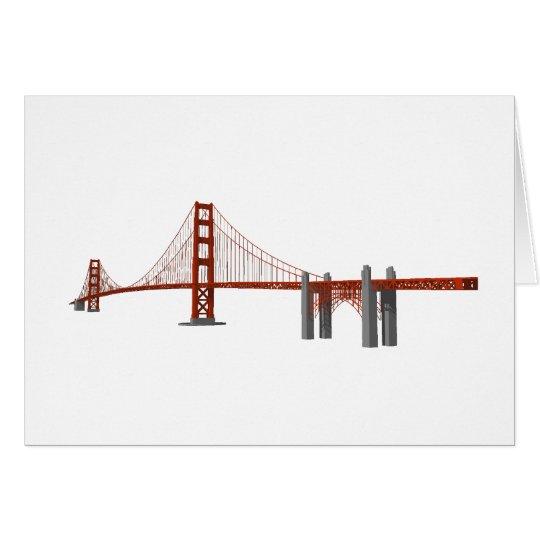Golden Gate Bridge: 3D Model: Card