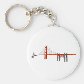 Golden Gate Bridge: 3D Model: Key Chains