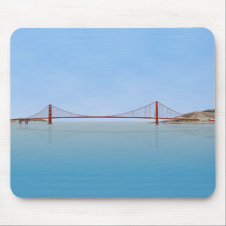 Golden Gate Bridge: 3D Model: Mouse Pad