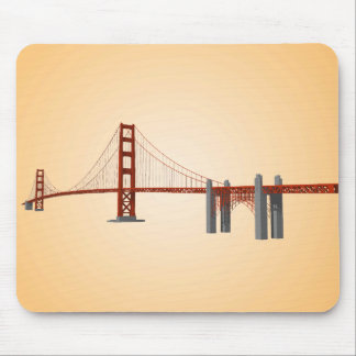 Golden Gate Bridge: 3D Model: Mousepad