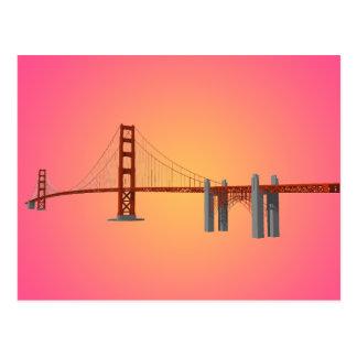 Golden Gate Bridge: 3D Model: Postcard