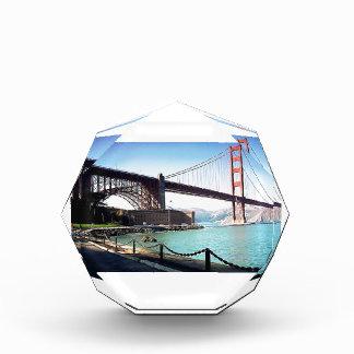 Golden Gate Bridge Acrylic Award