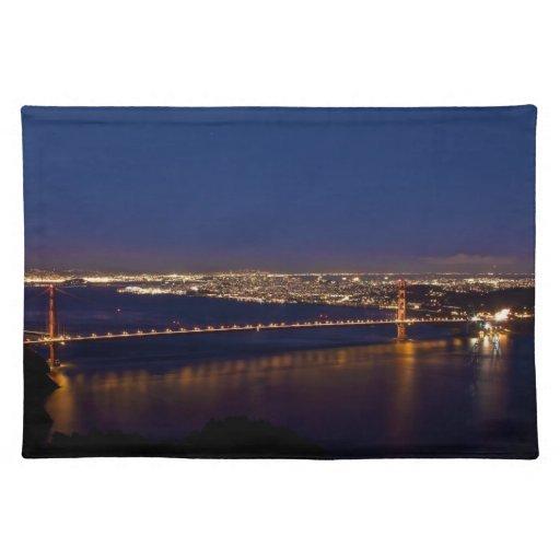 Golden Gate Bridge after Sunset Placemat