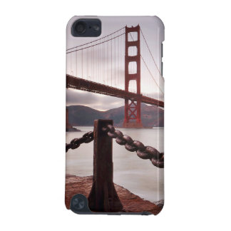Golden Gate Bridge against mountains iPod Touch (5th Generation) Case