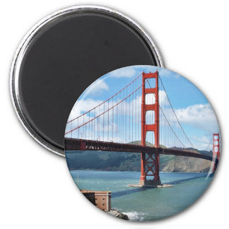 Golden Gate Bridge And Fort Point In San Francisco Magnet