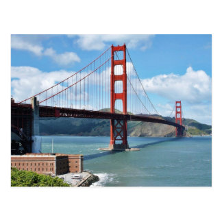 Golden Gate Bridge And Fort Point In San Francisco Postcards