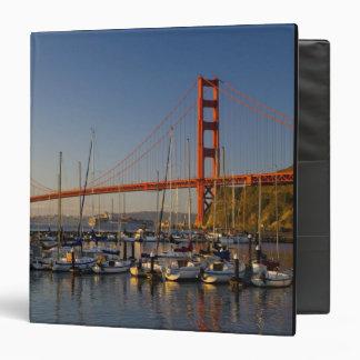 Golden Gate Bridge and San Francisco 2 3 Ring Binder