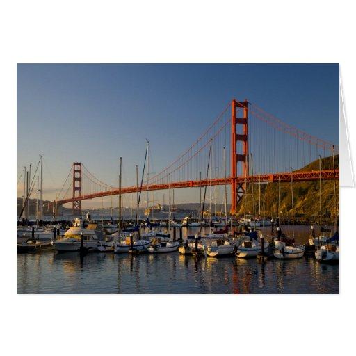 Golden Gate Bridge and San Francisco 2 Greeting Card