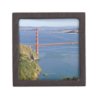 Golden Gate Bridge and San Francisco. 2 Jewelry Box