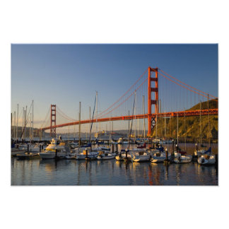 Golden Gate Bridge and San Francisco 2 Photo Print