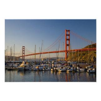 Golden Gate Bridge and San Francisco 2 Photo Art