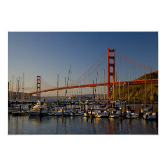 Golden Gate Bridge and San Francisco 2 Poster