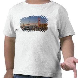 Golden Gate Bridge and San Francisco 2 Tshirt