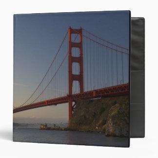 Golden Gate Bridge and San Francisco 3 3 Ring Binders