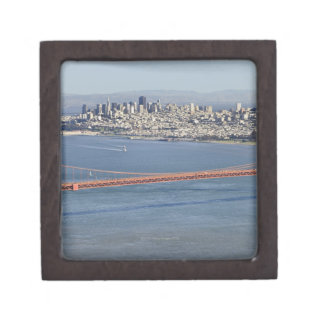 Golden Gate Bridge and San Francisco. 3 Keepsake Box