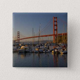 Golden Gate Bridge and San Francisco 4 Button